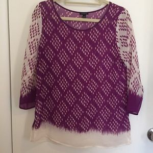 Ann Taylor top/swim cover up